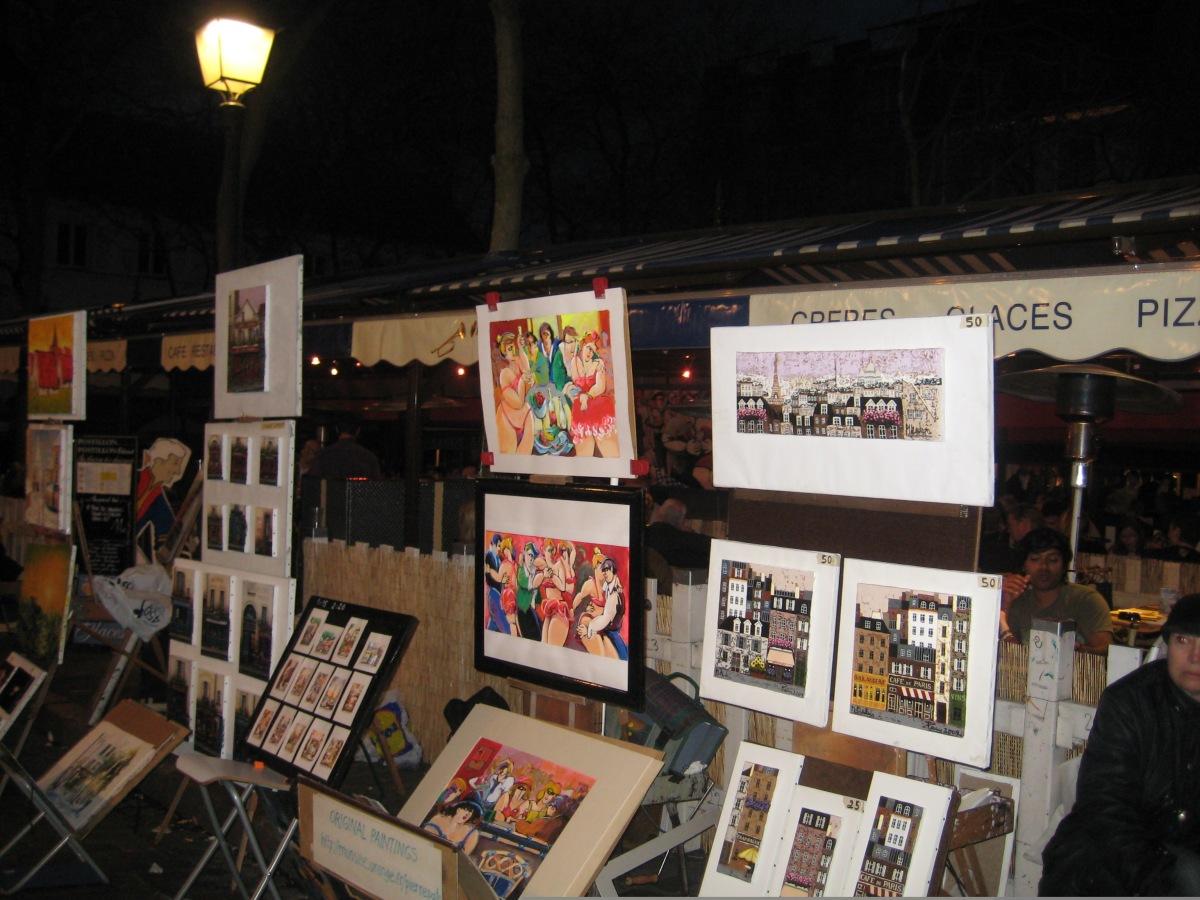 Montmartre de noche