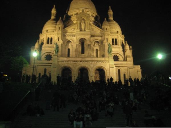 Sacre Coeur de noche