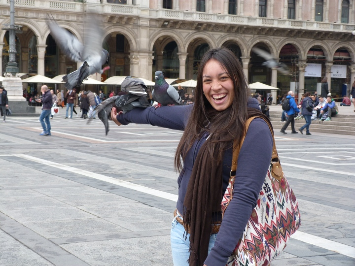 Felicidad en el Duomo