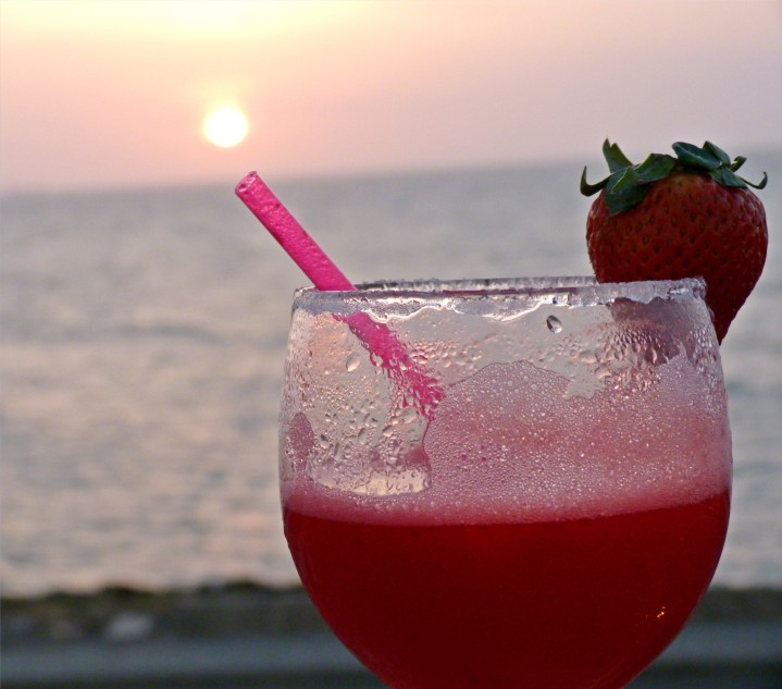 Strawberry Daiquiri, Café del Mar